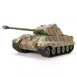 Танк HENG LONG German King Tiger р/у аккум 3888-1, 1:16, дым,звук,вращ.башня,пневм.орудие