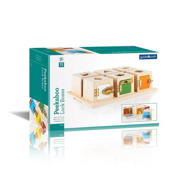 Игра Guidecraft Manipulatives Что в коробке G5058 фото 12613